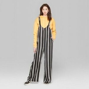 Wild Fable Striped Overalls